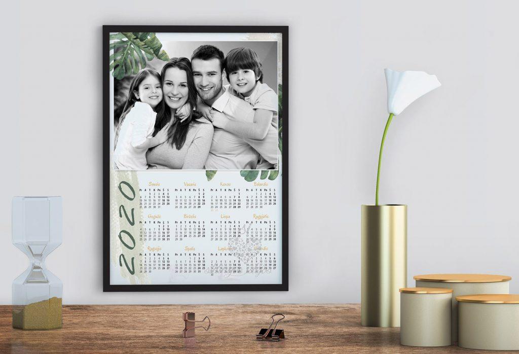 Fotokalendorius plakatas